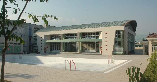Khu TDTT Trường PTCS Chu Văn An