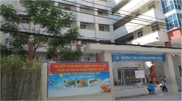 Trường THCS Huỳnh Khương Ninh