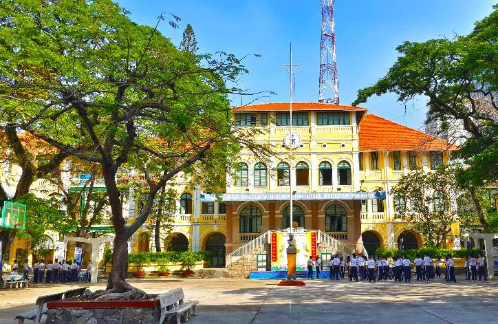 Trường PTTH Chuyên Trần Đại Nghĩa