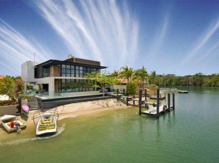 Ngôi nhà trên đảo với cảnh quan đẹp được thiết kế bởi kiến trúc sư Frank Macchia